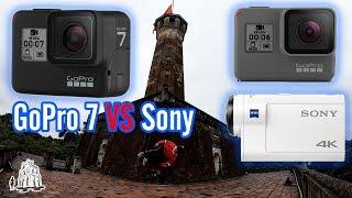 Thách đấu chống rung Gopro Hero 7 Black VS Hero 6, Sony X3000 action camera