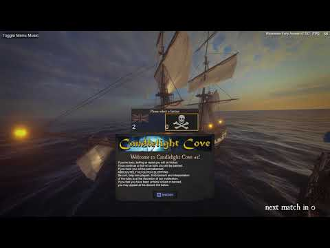 Blackwake: Crewing under expert captains (Hedgehog and SHoGUN)