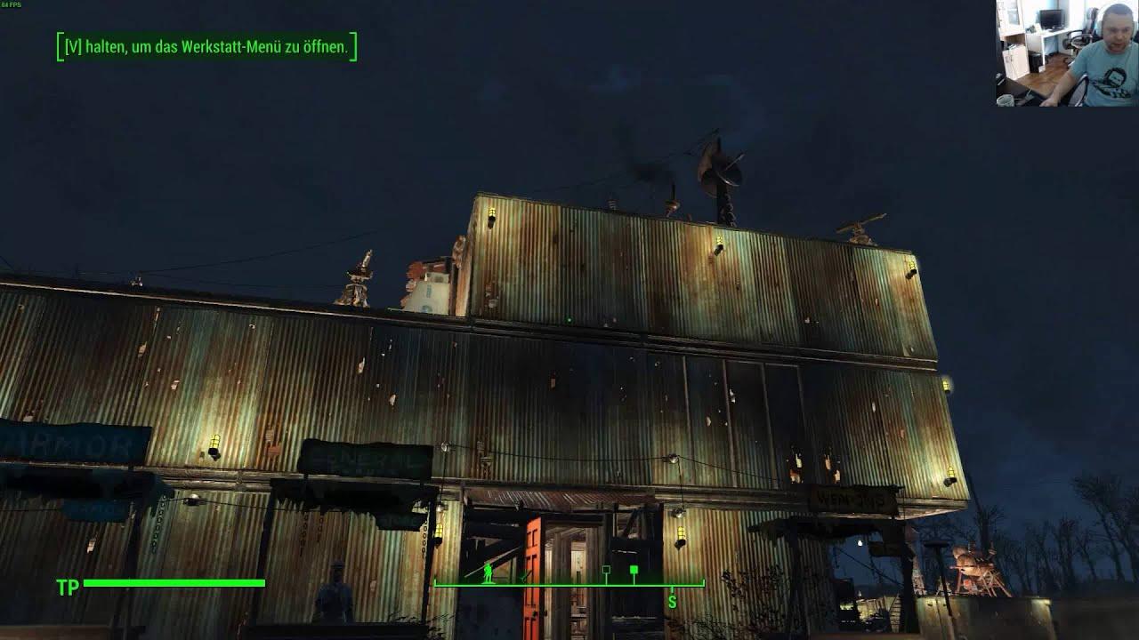 Fallout 4 ( Bauen, Handelsrouten, Geschäfte, Versorgung ...