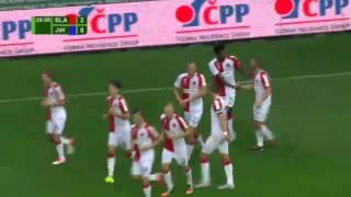 Slavia Praha vs. Vysočina Jihlava  4 - 0  All Goals  (CZECH REPUBLIC: Synot liga - 16.08.2015)