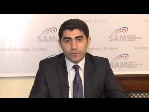 Current geopolitical situation in Central Asia and Azerbaijan interests in the region - Azad Garibov
