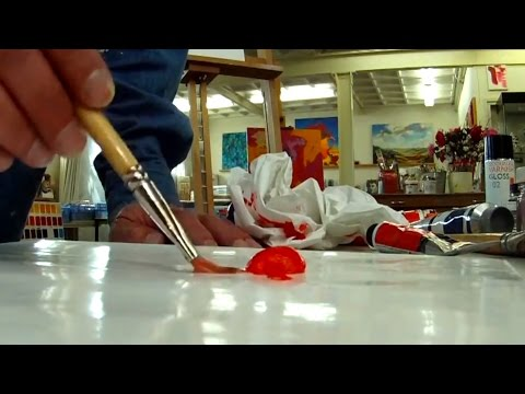 Cobra Water Mixable Oils - Lesson 1 - Solvent-free Oil Painting