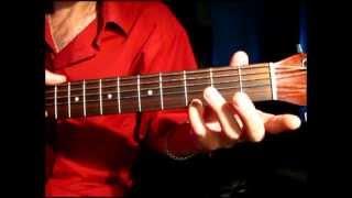 Как играть на гитаре аккорд G