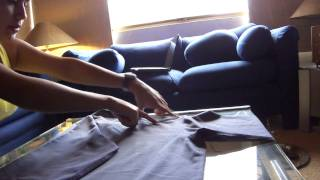 Como Doblar Camisa Manga Larga