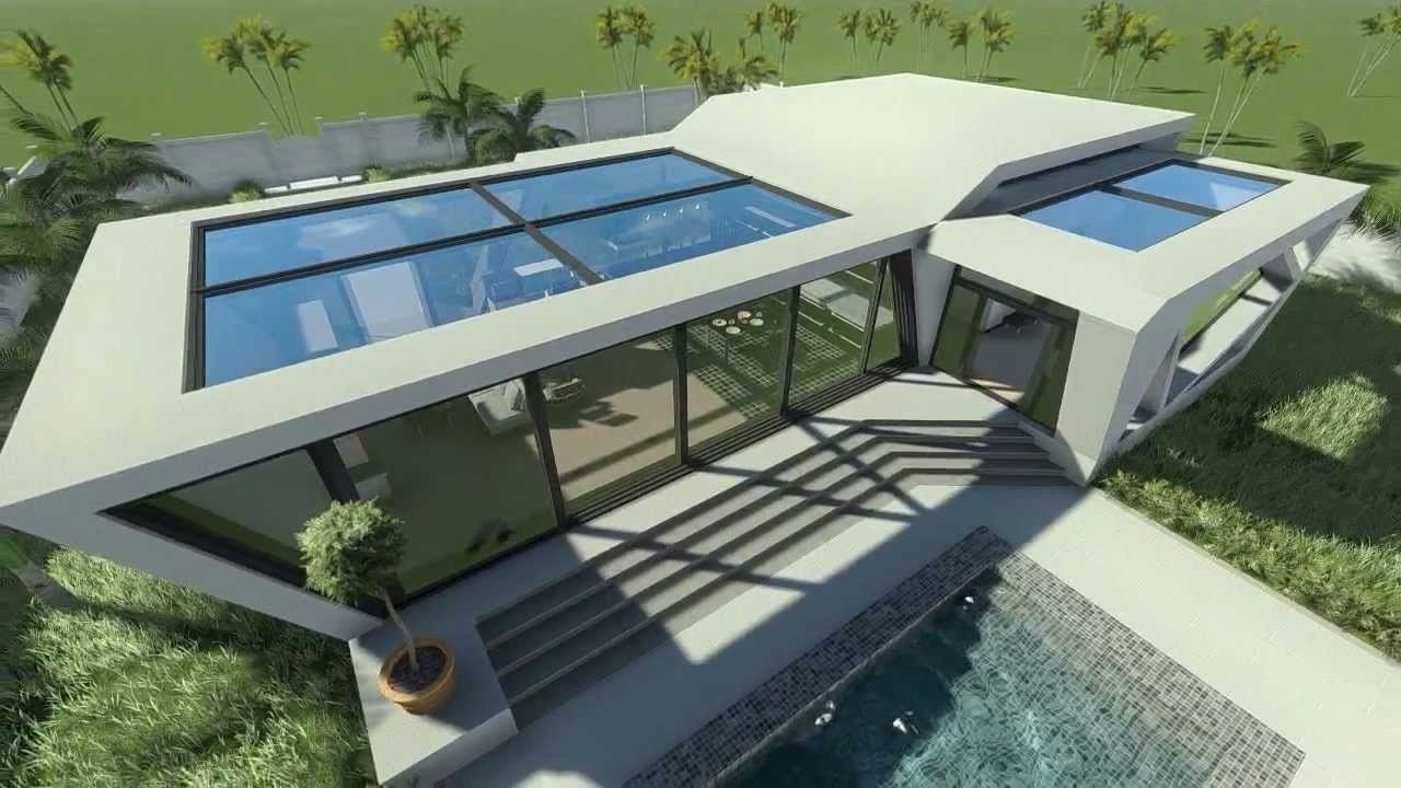 Demo reel concept house youtube for Concept homes