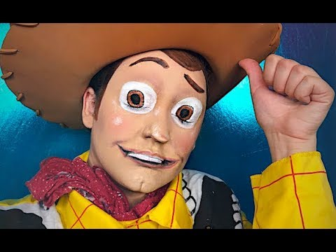 WOODY TOY STORY MAKEUP TUTORIAL!