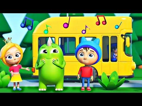 Развивающие песенки Сина и Ло - Автобус - Детские песенки