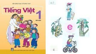 Tiếng Việt lớp 1 Tập 1 Bài 1   dạy bé học chữ cái tập đọc    PA channel