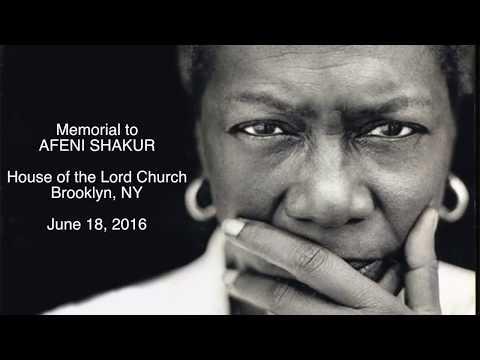 Afeni Shakur memorial event