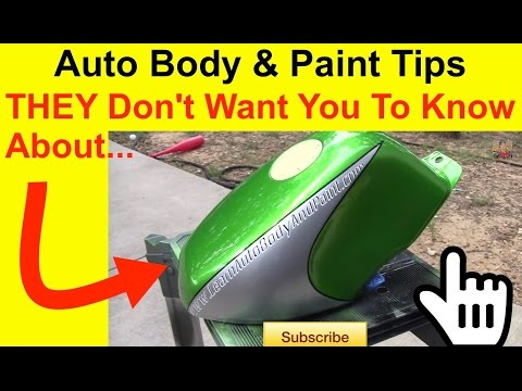Paint a Motorcycle - Auto Body And Paint Tips THEY Don't Want You To Know About