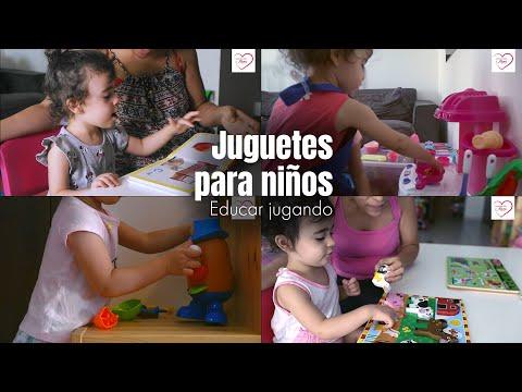 5 REGALOS PARA NIÑOS DE 2 A 4 AÑOS | EDUCAR JUGANDO