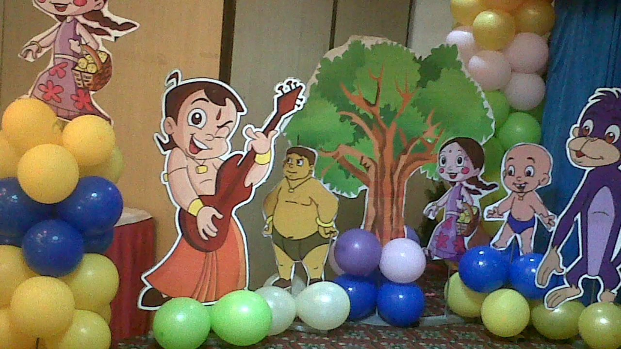 Chhota Bheem Birthday Party Celebrations For The First Time In