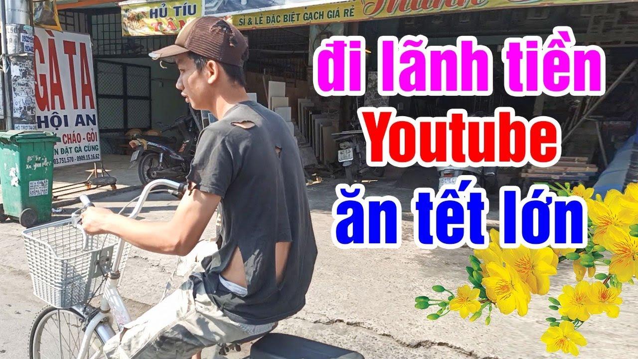 Thanh Niên Nghèo Khổ Rách Rưới Vô Ngân Hàng Lãnh Số Tiền Khủng Từ Youtube