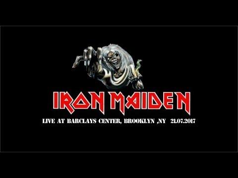 Iron Maiden - Barclays Center, Brooklyn, NY 21.07. 2017