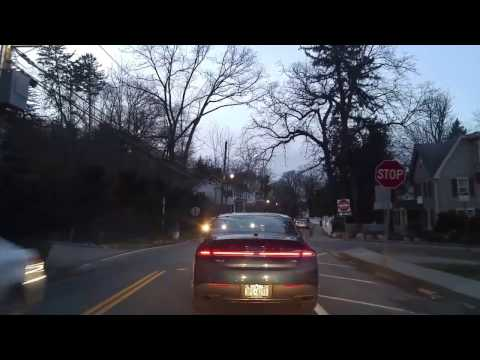 Driving from Roslyn to Greenvale in Nassau,New York