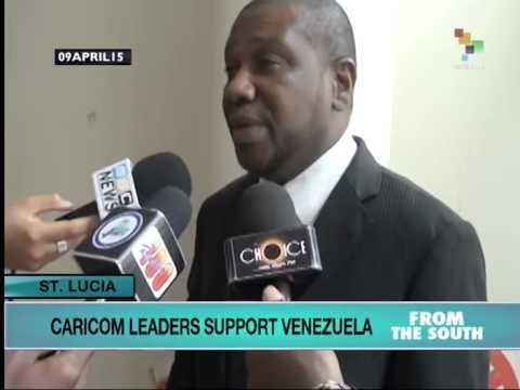 Caricom Leaders Back Venezuela
