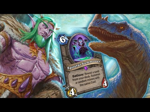 SPITEFUL DRUID + ELEMENTALS = ??? - Standard Constructed - The Witchwood