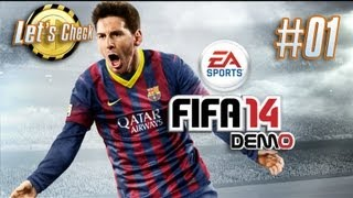 Lets Check: Fifa 14 - Demo Ultimate Team