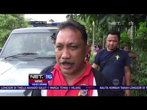 Longsor di Tikela Manado, Seorang Bayi Masih Dalam Pencarian - NET 16