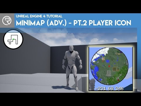 Create an advanced minimap with Unreal - Go Make Games UE4 Tutorial