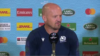 Scotland post match press conference at Rugby World Cup 2019