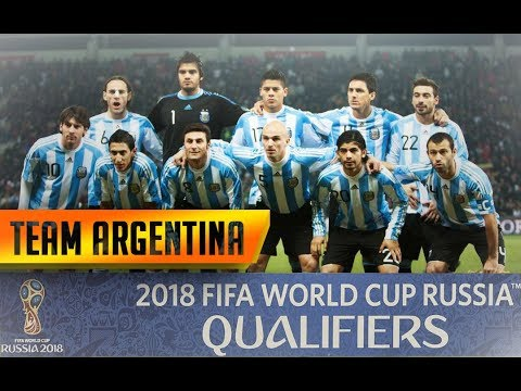 Argentina football team Fifa world cup 2018 Russia (official ) - qualifier fifa world cup 2018 [HD]