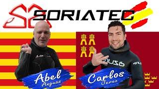 Abel Anguas y Carlos Jerez(Azure) - equipo SORIATEC PescaSubmarina