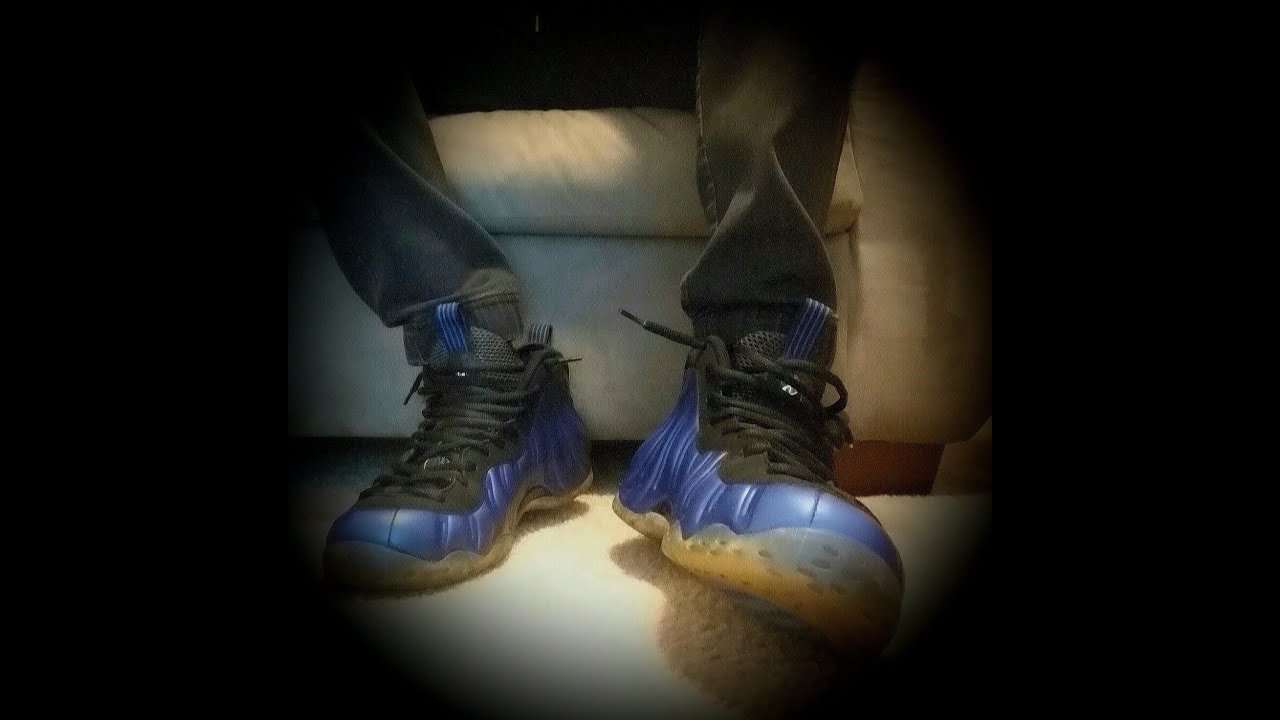 a4a62a772ebf4 Nike Air Foamposite One Royal On Feet - YouTube