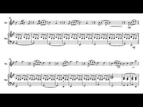 You Are The Reason (Calum Scott) Violin And Piano
