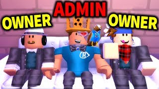 I got HIRED as an ADMIN in this game... and things went CRAZY!! (Roblox)