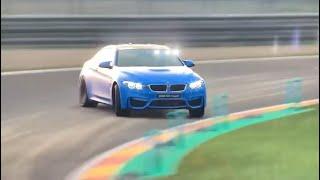 Gran Turismo Sport - BMW M4 drift session at Spa