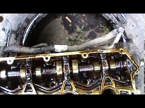 Потек тосол из под Головки Двигателя и что получилось