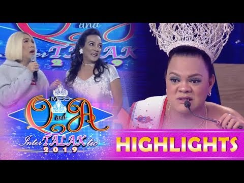 Its Showtime Miss Q & A: Julianas tip to Alma July Concepcion