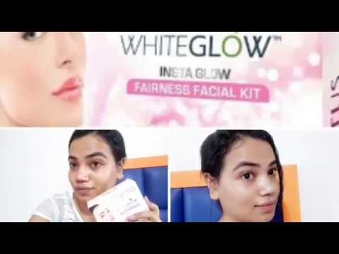 how to do facial at home [lotus herbal insta white glow] [Indian fashion and beauty tips] affordable