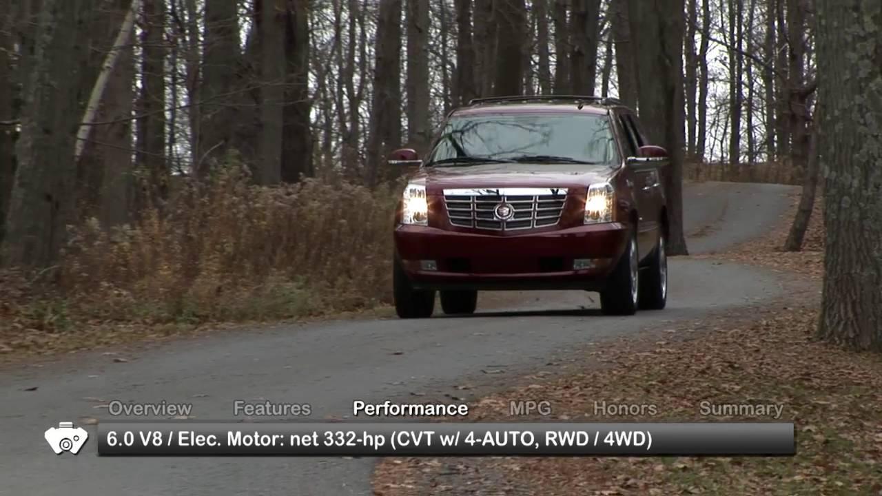 2010 Cadillac Escalade Hybrid Used Car Report