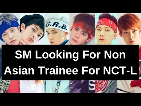 SM Entertainment is looking for Non-Asian Trainees for NCT- L (NCT Latin  America)