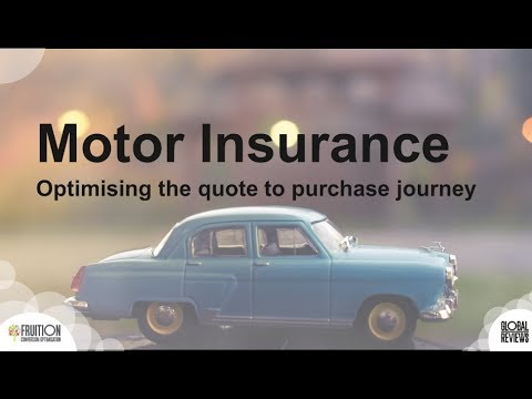 Motor Insurance - Optimising the quote to purchase journey