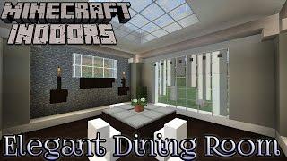 Luxury Minecraft Dining Room