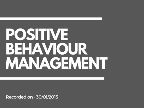 Teaching Assistant SEN Resources | Behaviour Management