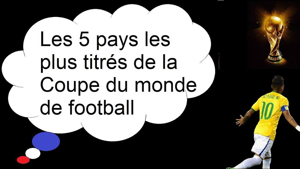 les 5 pays les plus titr s de la coupe du monde de football youtube. Black Bedroom Furniture Sets. Home Design Ideas