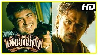 Mankatha Tamil Movie | Ajith eliminates Lakshmi Rai | Arjun and Ajith fight | Premgi is executed