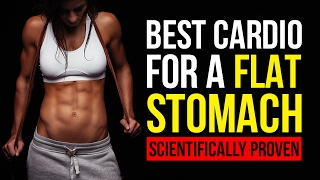 best cardio for flat stomach hiit sprint spin bike scientifically proven