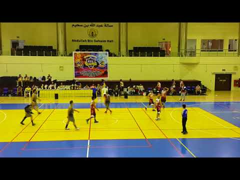 JCLG vs. TFCMI The Finals 1st QTR  20-10-2017 @ Qatar Sports Club