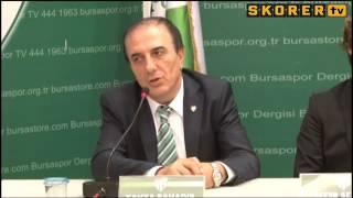 Aydın Karabulut - Bursaspor'la Sözleşme İmzaladı.. (09.06.2014)