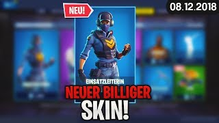 FORTNITE SHOP from 8.12 - ⏬ NEW SKIN! today's 🛒 Fortnite Daily Item Shop: 08 December 2018 | Detu