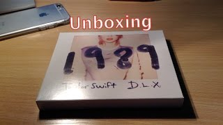 Taylor Swift - 1989 Deluxe Edition - Unboxing - German,Deutsch