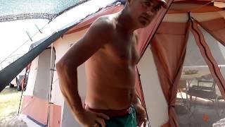 Отдых с караваном на Арабатской стрелке кемпинге(, 2015-08-01T14:12:07.000Z)