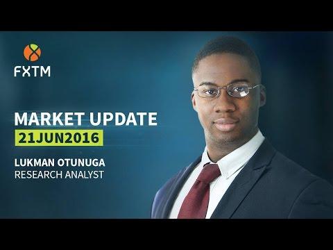 FXTM Forex Market Update | 21/06/2016