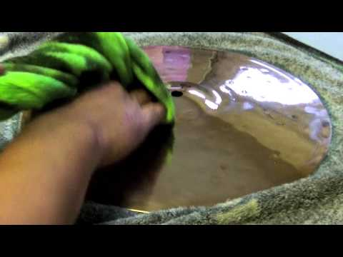 Zidljian ZBT Cymbal Cleaning Polish - how I clean my Zildjian Hi Hat Cymbal