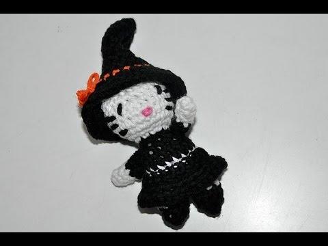 Häkeln Halloween Kitty Teil 2 Amigurumi Youtube